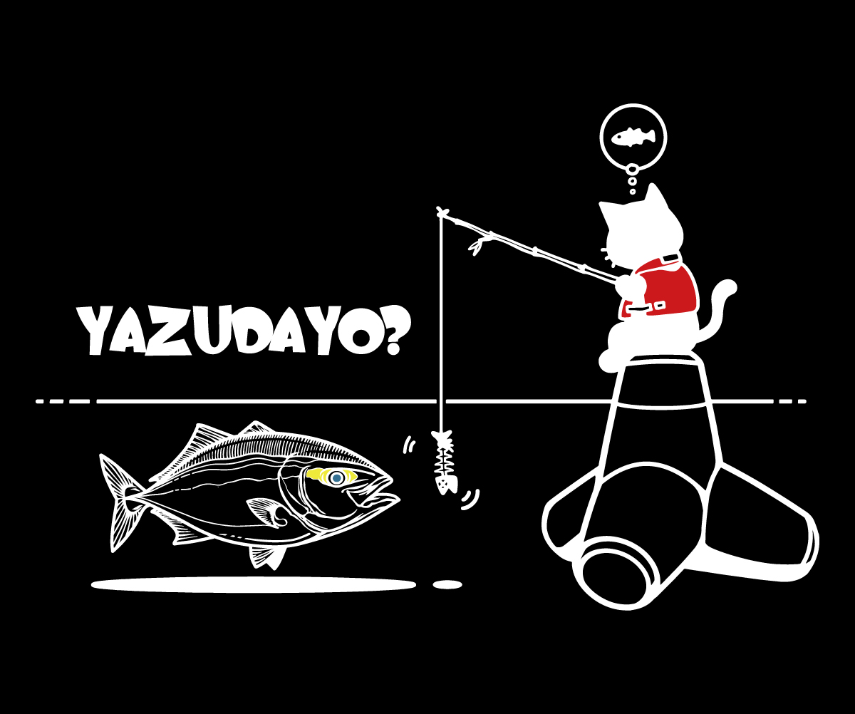 cat&yazu白線