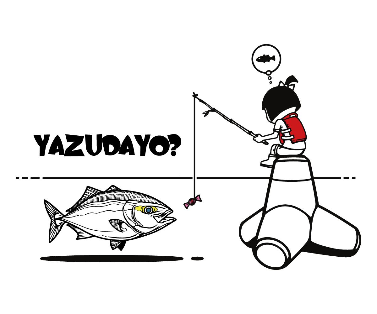 girl&yazu黒線